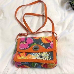 Vera Bradley wallet, over shoulder bag